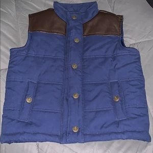Janie and Jack Toddler Puffer Vest